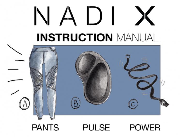 ナディ・エックスの利用マニュアル